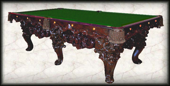 Trophy Table - Masterpiece pool table