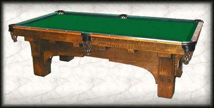 St Bernard Mission - 4 x 8 brunswick pool table
